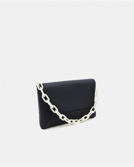 Night Blue Painita Clutch